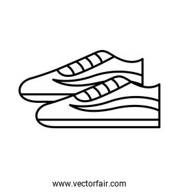 tennis shoes icon