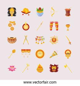 bundle of icons festival navratri