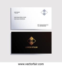 envelope, corporate identity template on white background