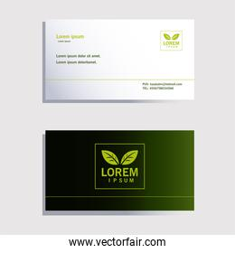 envelope, corporate identity template in white background