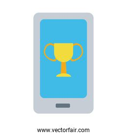 smartphone device flat style icon