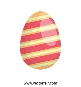 happy easter egg paint with lines