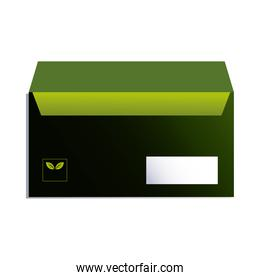 envelope for sending documents with corporate branding