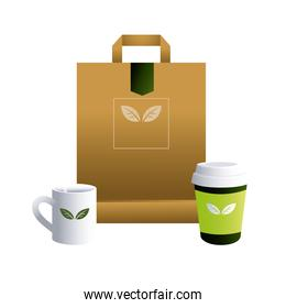 bag paper and cups ceramic for brands image