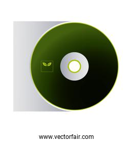 cd with logo of envelopes for branding