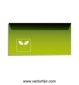 envelope for sending documents with corporate logo
