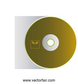cd with envelopes for branding