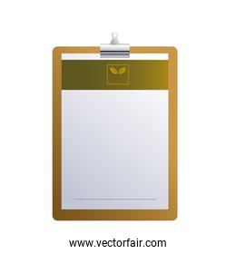 clipboard with logo brands company
