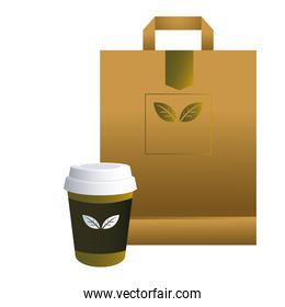 bag paper and cups printed for brands image