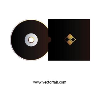 cover and cd with corporate identity