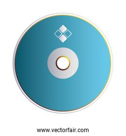 cd with logo corporate identity