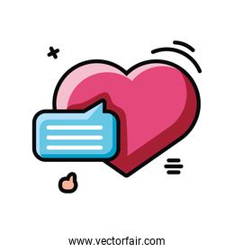 chatting on the Internet, online dating, virtual relationships
