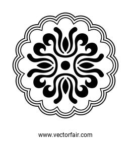 chinese seal toten line style icon