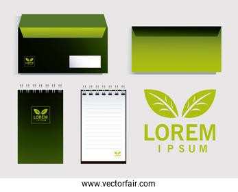 envelopes elements of brand identity in companies