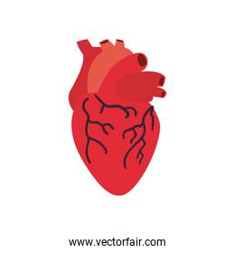 heart free form style icon vector design