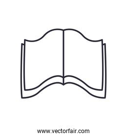 book open linear style