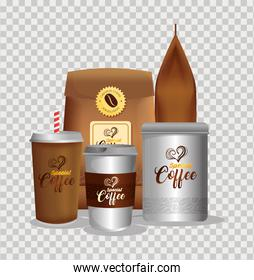 branding mockup coffee shop, corporate identity mockup, disposable, bottle and bags paper of special coffee