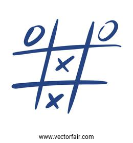 tic tac toe game free form style icon