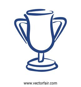 trophy cup award free form style icon
