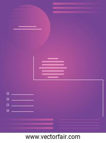 abstract minimal background with purple color