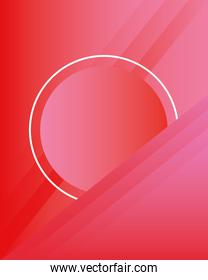 abstract minimal background with red color