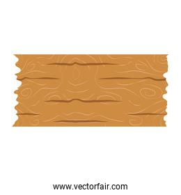 wooden board old isolated icon