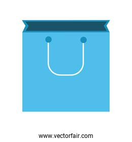 bag shopping style line and fill icon