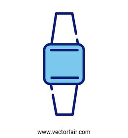 smartwatch device style line and fill icon