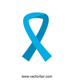 Medical ribbon flat style icon vector design