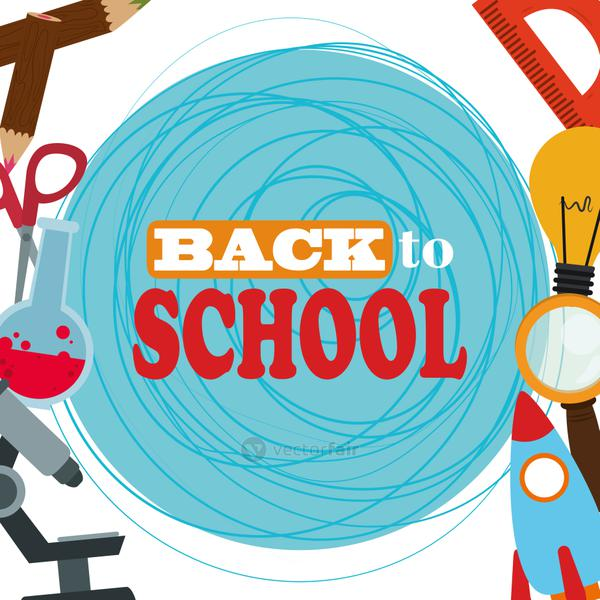 back to school, elementary education supply study background