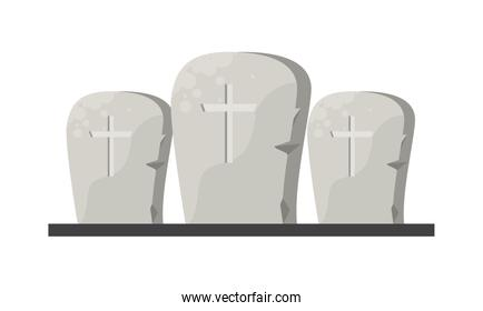 halloween graveyards tombs cemetery icons