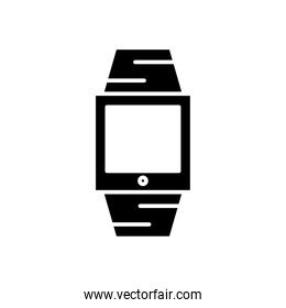 smartwatch technology device silhouette style icon