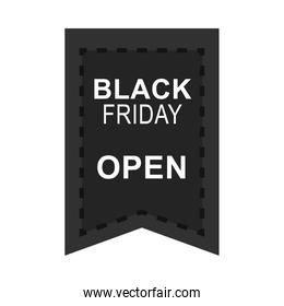 black friday, sale promotion and advertising icon flat style