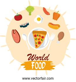 world food day, protein vegetable healthy lifestyle meal