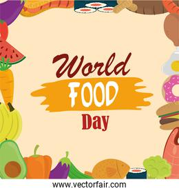 world food day, healthy lifestyle meal eat diet background