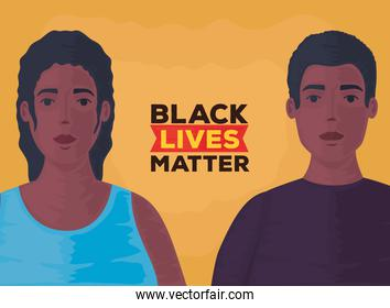 black lives matter, couple african, stop racism