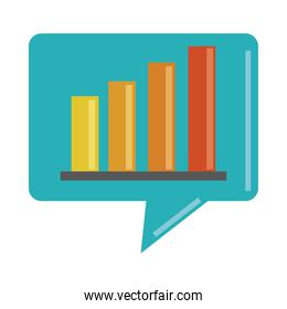 data analysis, financial business diagram strategy marketing flat icon