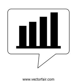 data analysis, financial business diagram strategy marketing line icon