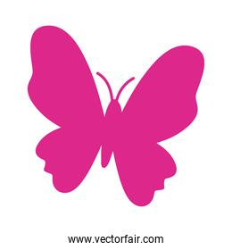 butterfly pink silhouette style icon