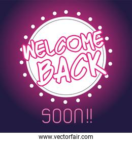 welcome back after pandemic, we are working again