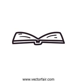 open book linear style icon