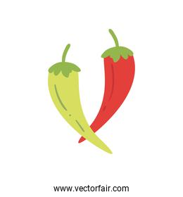 chillis free form style icon vector design