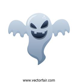 halloween ghost floating style degradient icon