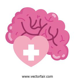world mental health day the human heart and brain
