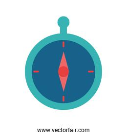 compass flat style icon vector design