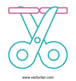 vasectomy male Sterilization icon, line style