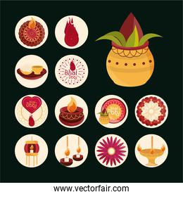 happy bhai dooj, event celebrated by hindus, collection icons