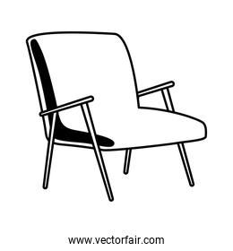 sofa couch forniture house line style icon