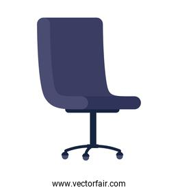 office chair furniture icon isolated