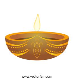 candle fire hindu religion icon